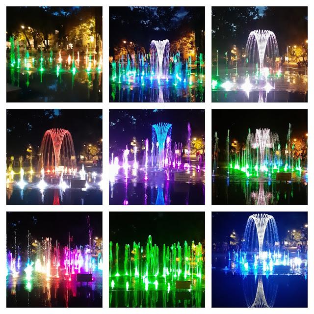 Fontes multimídia com shows de sons e luzes na Polônia - Bydgoszcz