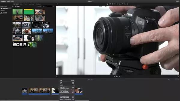 برنامج مونتاج iMovie