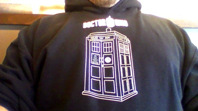 My Doctor Who hoodie