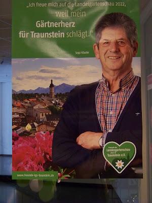 Sepp Häusler zur Landesgartenschau Traunstein