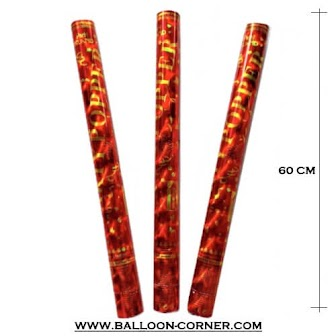 Jual Grosir Party Popper / Confetti Ukuran 60 Cm (NEW ARRIVAL)