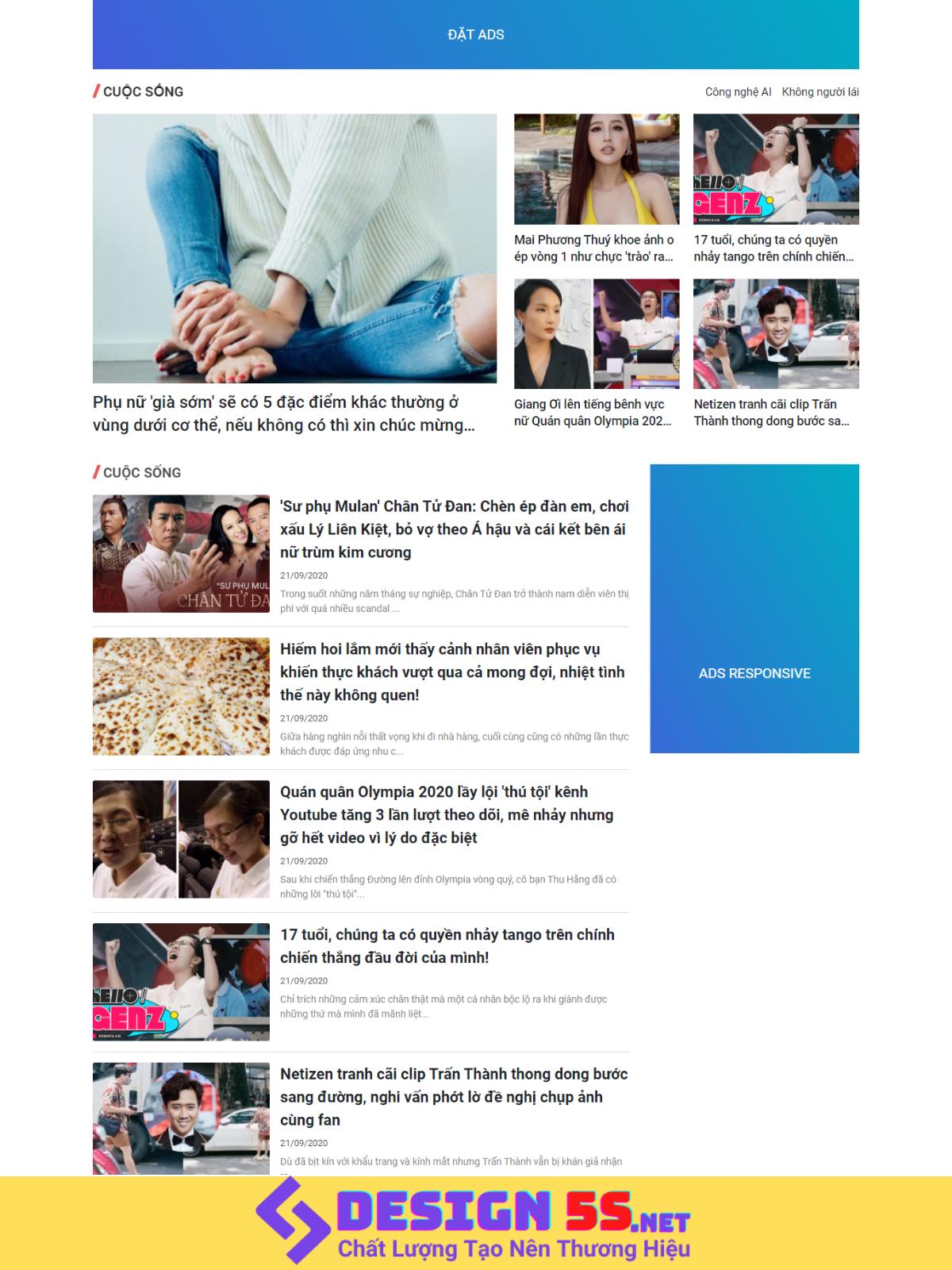 Theme blogspot tin tức atn, đẹp, chuẩn SEO - Ảnh 2