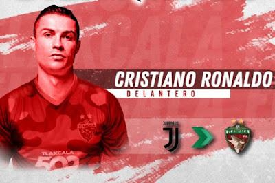 كريستيانو رونالدو ينتقل إلى دوري الدرجة الثالثة المكسيكي