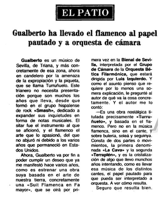 TURRUÑUELO BIENAL 1988 GUALBERTO