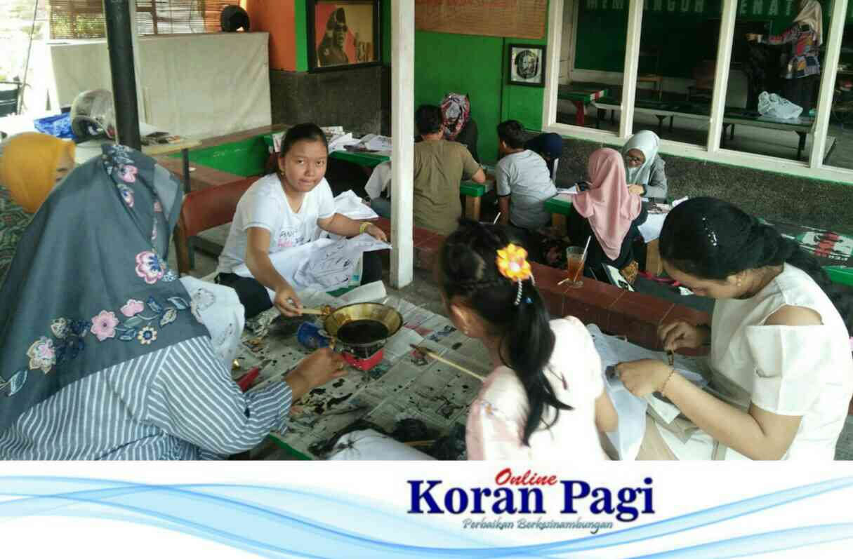 Workshop Batik Canting Agenda Terakhir Momen Peringatan