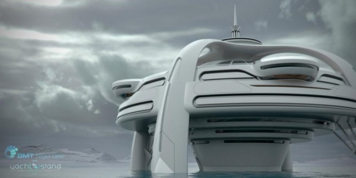 alien's & android's tech's: Projectar uma utopia em alto mar