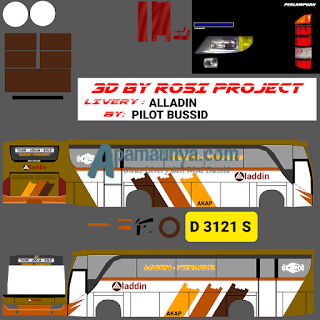 Livery Bus Aladin Old Setra