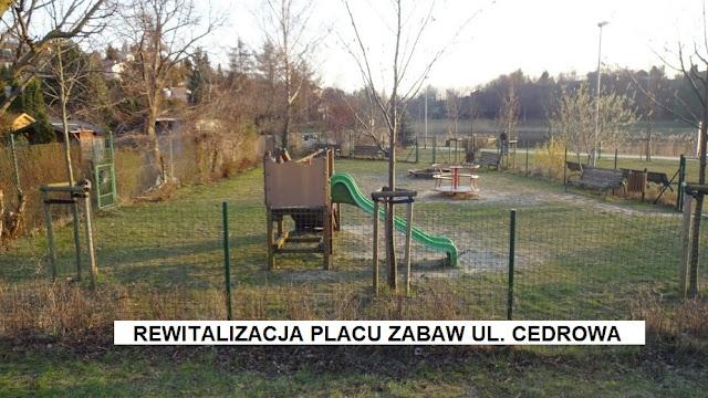 Rewitalizacja placu zabaw ul. Cedrowa - Budżet Obywatelski projekt nr 8 - Zmieniamy dzielnicę, sprawdź swoją ulicę - Czytaj więcej »