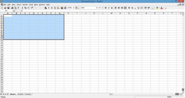 Microsoft Excel 2000 (v9.0)