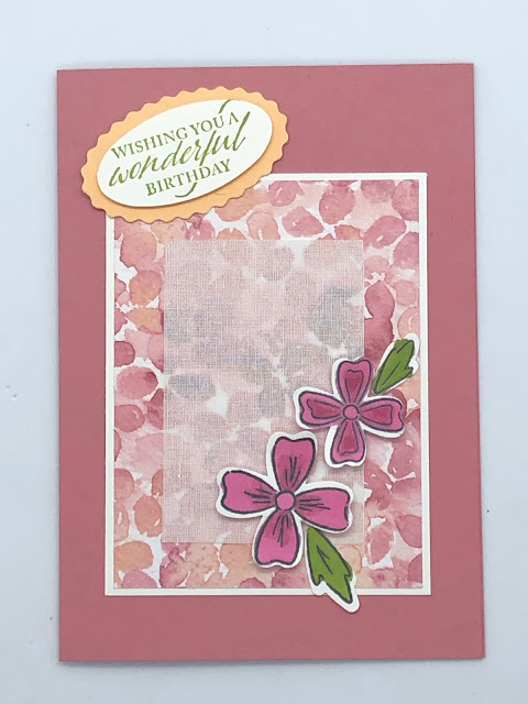 Hydrangea Hill DSP,  Stampin' Up!