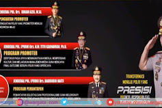 Selamat Bertugas Pak Kapolri, Berikut Point Point Penting Program PRESISI Komjen Pol LIstyo Sigit