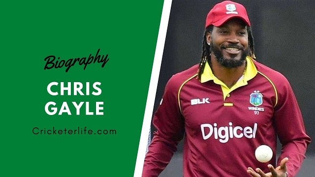 Chris Gayle biography, age, stats, Records, wife, family, etc.