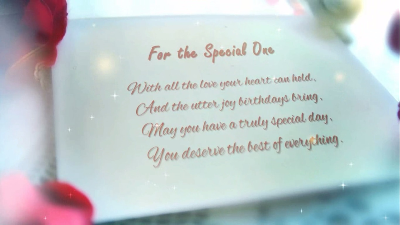 Surprise Birthday Wish For Your Loved One L001