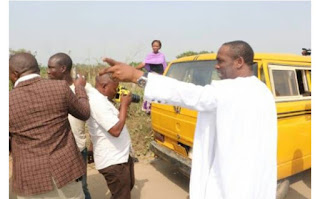 Lagos Deputy Governor, Hamzat Arrests Commercial Bus Drivers (Photos)