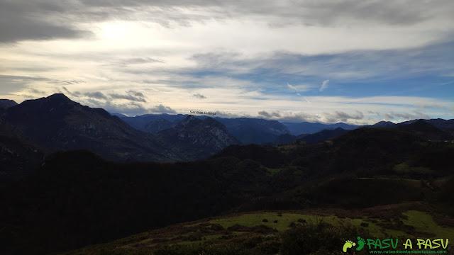 Vista de la Sierra de Caranga desde el Plantón