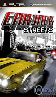 Car Jack Streets PPSSPP CSO High Compress 82mb