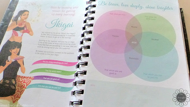 2016 Belle De Jour Power Planner: Ikigai Page Picture (Review at http://www.TheGracefulMist.com/)