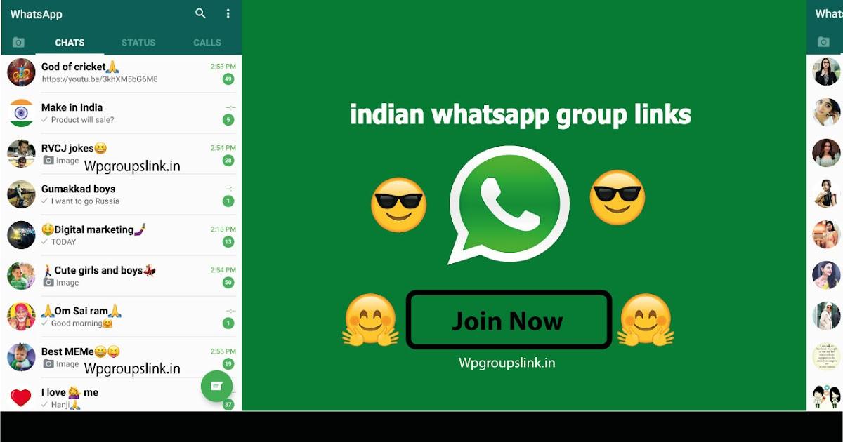 Indian Whatsapp Group Links List-50+ Whatsapp Group Link