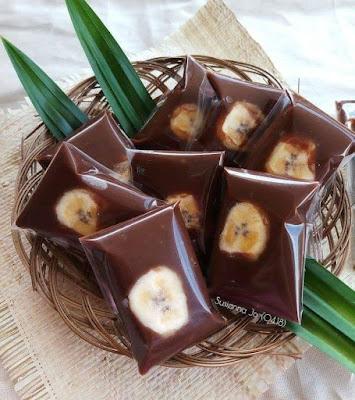 Resep Jajanan Pasar - Hunkue Pisang Cokelat // Nagasari Cokelat