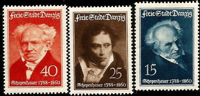 Arthur Schopenhauer 150th Ann. Danzig