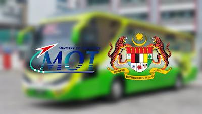 Permohonan Insentif RM600 Pemandu Bas Persiaran Online (Semakan Status)