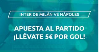 Mondobets promocion Inter vs Napoles 28-7-2020