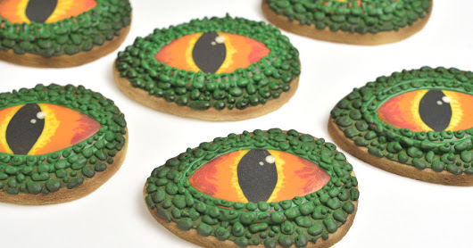 Jurassic World Dinosaur Eye Cookies