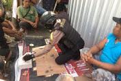 Polisi Mengamankan 16 Orang di Lokasi Perjudian Dadu di Jajar Karangasem