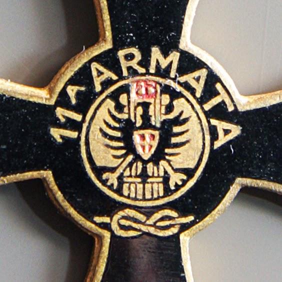 particolare croce 11 undicesima armata mori mignon
