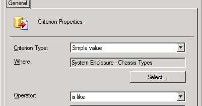 Henk's blog: Chassis Types and query-based Collections (part 2)