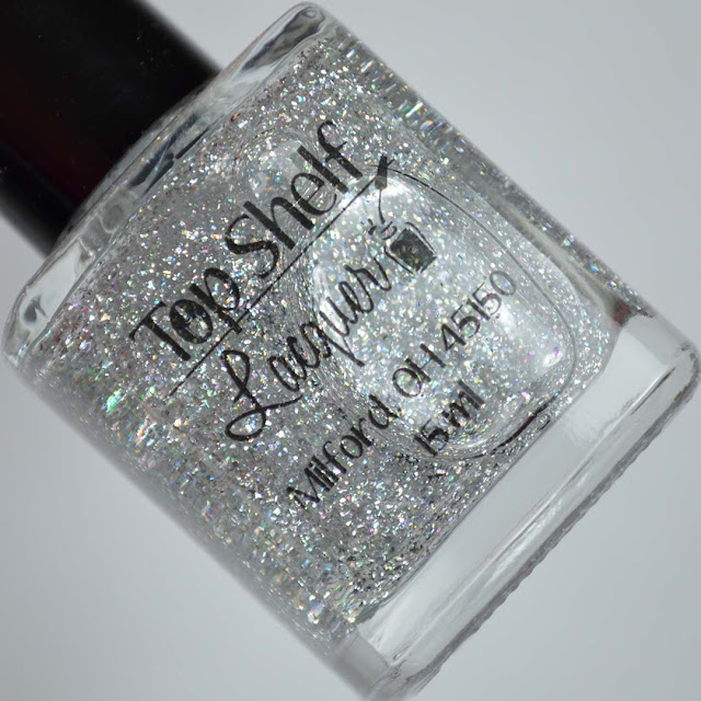 holographic top coat in a bottle