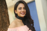 Rakul Preet Singh in lovely Pink Crop Top and Black Trousers at Jaya Janaki Nayaka success meet 015.JPG