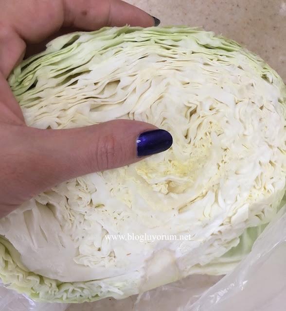 coleslaw lahana salatası hazırlık