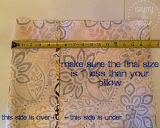 print fabric, measuring tape
