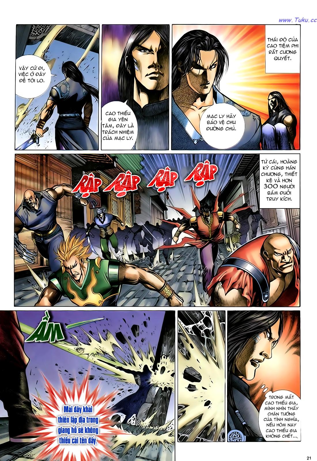 Anh hùng vô lệ Chap 24 trang 22