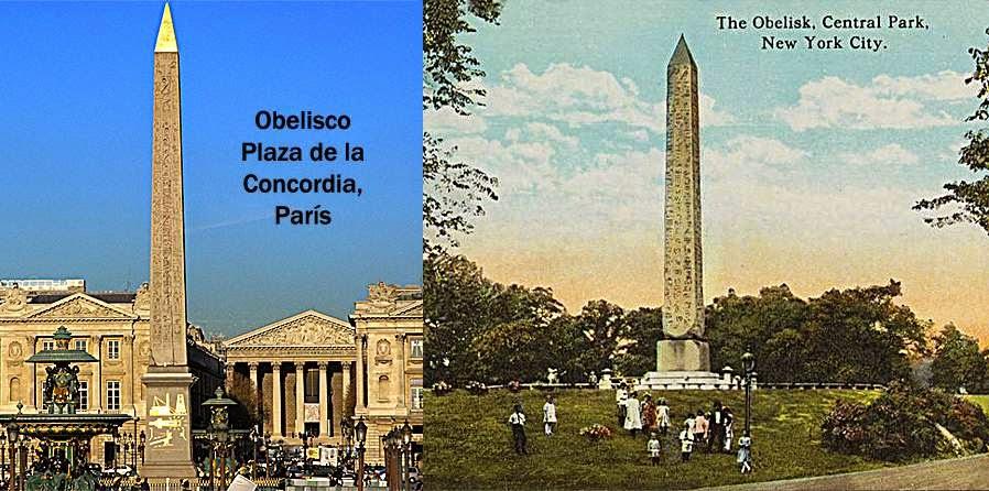 La construcción de obeliscos en 1600 años de historia