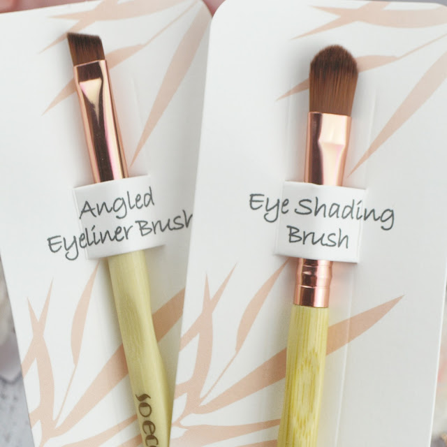 Eco Friendly Vegan Cruelty Free Beauty, So Eco Makeup Brushes | Lovelaughslipstick Blog Review