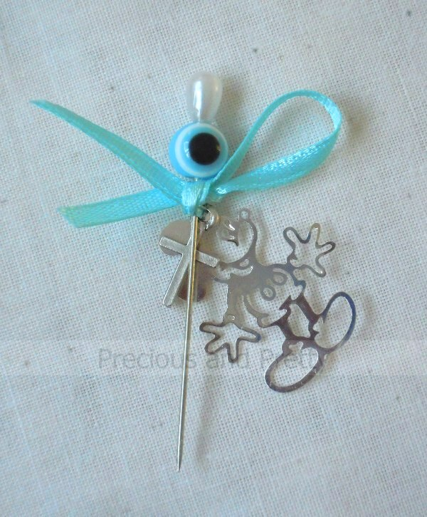 Witness pins Micky Mouse theme Greek Christening martyrika M11