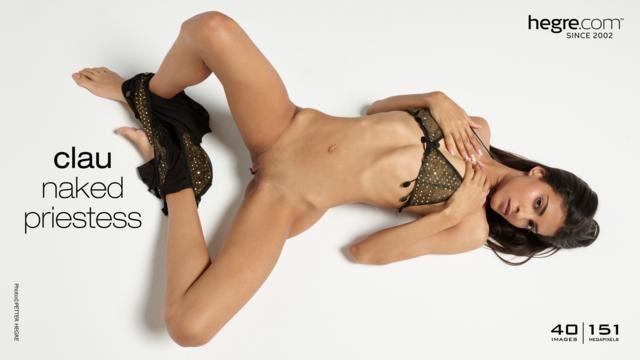 [Hegre-Art] Clau Naked Priestess