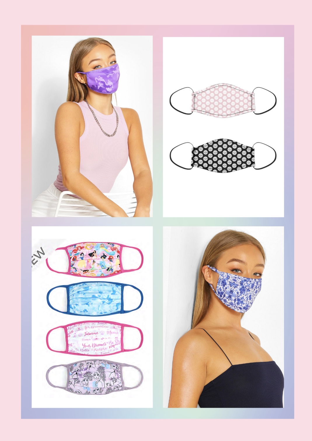 The best places to buy reusable face masks in the UK!