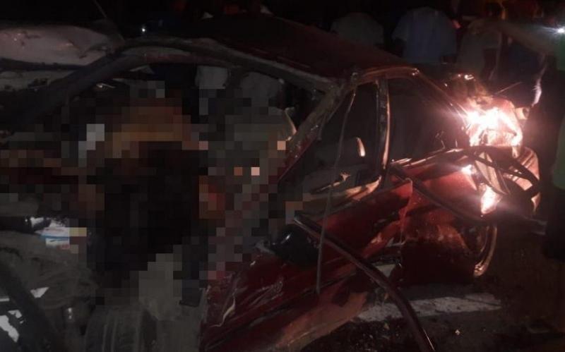 Choque múltiple deja muertos y heridos en Autovía del Este