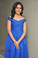Actress Ritu Varma Pos in Blue Short Dress at Keshava Telugu Movie Audio Launch .COM 0006.jpg
