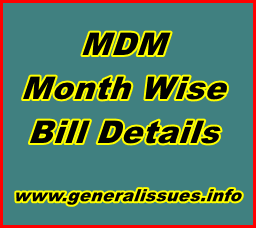 MDM-Month-Wise-Bill-Details