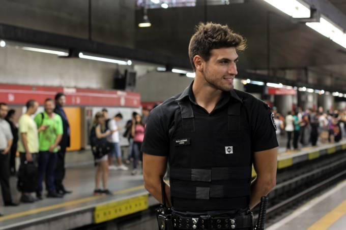 Não fique inseguro - Guilherme Leão - Segurança famoso do metrô