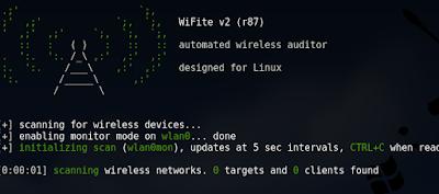 Memutuskan Koneksi Jaringan dengan Wifite Pengganti NetCut