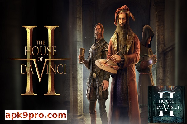 The House of Da Vinci 2 v1.0.4 Apk Full + Data File size 1.52 GB for android