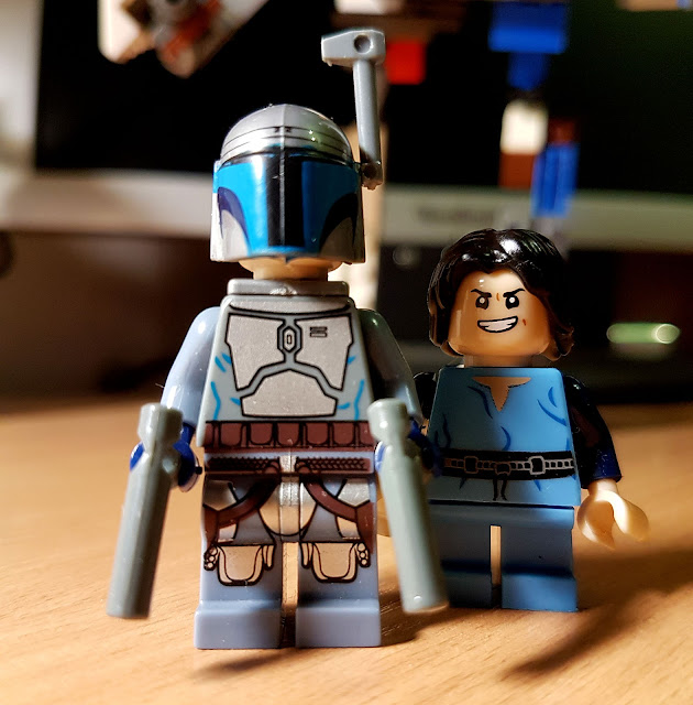 Jango Fett and Boba Fett lego