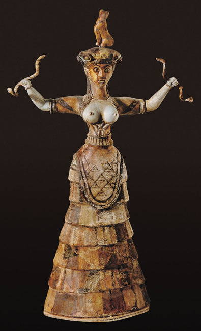 Snake Goddess From Knossos