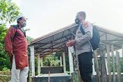 Sambang Terhadap Warga, Sat Binmas Polres Enrekang Himbau Protokol Kesehatan