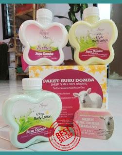 Cara memutihkan kulit secara alami dengan menggunakan paket lulur susu domba